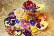 Crystallized Sweet Flowers Mix