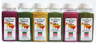 Mini Herb & Mini Flower Crystals® Assortment 6 - 6 oz Bottles
